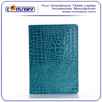 Croco Pattern PU Leather Smart Cover Case for the Apple iPad Air / iPad 5 9.7inch Tablet PC