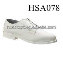 Navy Force/ Air Power white genuine leather shoelace Batse officer shoes
