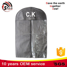 2015 wholesale mini pvc zip lock foldable Non Woven hockey jersey cloth garment bag