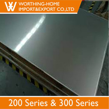 China Manufacturer Working Principle Coating Pvc Grade 201 304 1mm Thick Stainless Steel Plate
