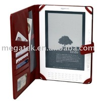 Wallet super slim flip folio Leather case for Kindle touch, for kindle case touch