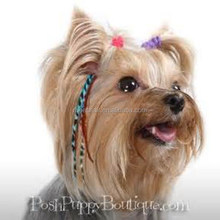 """4""""-7"""" feather hair clip for the lovely pets , cats and dogs"""