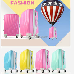 Factory/Sale Suitcase abs+pc luggage trolley case/travel luggage bags/hard kids luggage