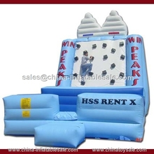 funny game toys,excited game for children and adults ,inflatable climbing hill