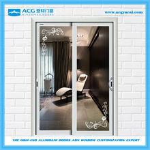 ACG brand sliding door cheap used/sliding door philippines price and design/rustic sliding door