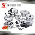 CYCS527B-1B casserole de cuisine à couvercle, poêle à frire carré série de vaisselle