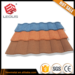 stone coated metal roof,decorative metal roofs