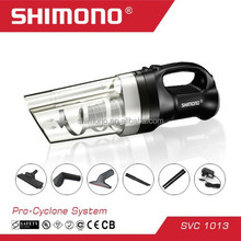 SHIMONO Pro-cyclone handy vacuum cleaner with battery