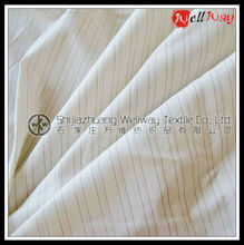 Wholesale warm soft stripe flannel fabric for bed sheet
