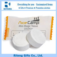 China Manufacturer Cheap Disposable Magic Towel Tablet