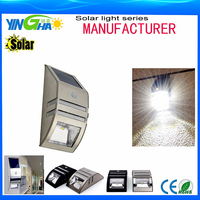 Outdoor wall Solar LED security light with motion sensor light