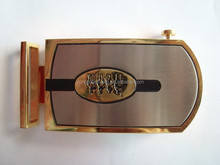 Metal factory custom personalized logo belt buckles for men