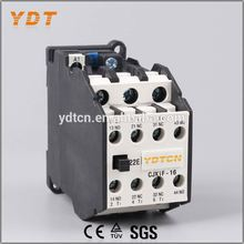 YDT circuit breaker, ac contactor 3tf cjx1, best quality material white lc1-d ac contactor