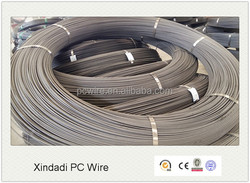 hollow core slab used 12.0mm ribbed/plain prestressed concrete wire