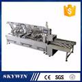 Alta capacidad PLC de control de cuatro filas 2 1 intercalando crema máquina de la galleta