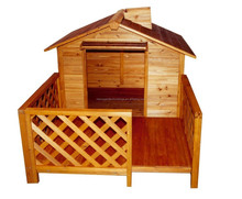 wooden style dog crate wholesale