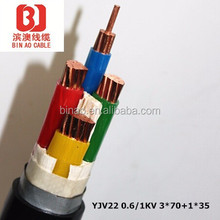 XLPE insulated power cable copper core low voltage cables