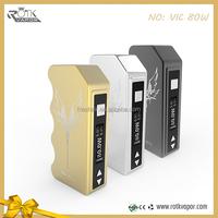 2015 E Cigarette Box Mod VIC 80w Box Mods rotkvapor 80w Box Mod vape
