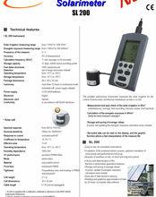 Solar radiation meter