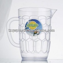 1L Plastic water pitcher,Beer pitcher,Made of plastic PS