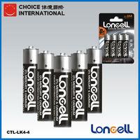 LONCELL Brand am4 1.5v aaa lr03 alkaline dry batteri