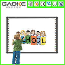 """Hot sale IR 10 point touch 82"""" school board smart board interactive whiteboard for school with cheap price"""