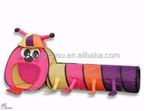 Lovely animal shaped kids tunnel tent play tent for children