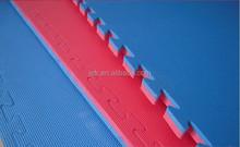 Taekwondo/Judo/Karat Interlocking gym EVA Mat With EVA Foam Backing