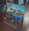 Clear luxury durable acrylic reptile display cases with terrarium reptile