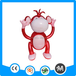 Goods in stock inflatable jumping rubber animal toys