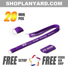 Promotion Custom Printed Tubular Lanyard