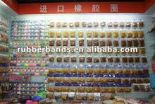 2012 new material all kinds of natural rubber band solid rubber band and silicone band