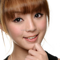 GEO Circle Brown BC-102 Color Contact Lens (Korean Authentic Lens and US FDA approved)