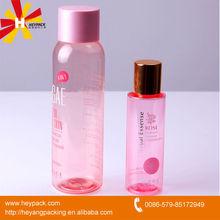 200ml cosméticos loción botella de plástico pet