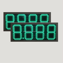 date and time led display/ digital fuel price signs/ alibaba express hot products led gas price sign