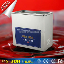 4.5L Jeken Digital Heated Sonic Vibrating Jewelry Cleaner / Home Cleaning Equipment