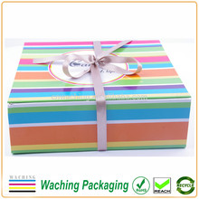 Custom Magnet Closure Folding Paper Gift Box