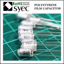 Tight Tolerances Radial Lead 68J 100V Polystyrene Film Capacitor