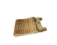 falten im freien Garten bambus stuhl hochstuhl