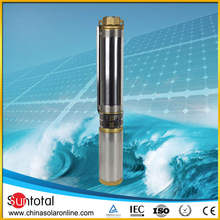 High Power Submersible Solar Pump for Deep Well 1500W 110v