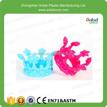 2015 Party Favors Colorful Inflatable Crown Kings/Queenes Crown For Kids
