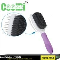 New pet grooming products large size double side pet brush