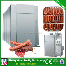 beef meat smoked machine/fish smoking oven/chicken smoke house for sale
