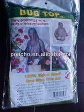 cheape price mosquito prevent net clothes/body cover suits/net cover set for outdoor