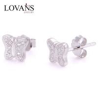 New Stud One Gram Gold Earrings Designs Jewelry Korea Design FE016