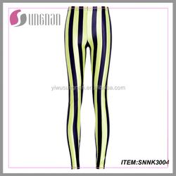 YIWU manufacture custom women leggings Spandex and polyester leggings sublimation print leggings print leggings
