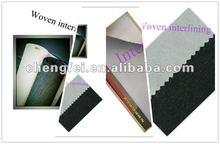 2012 hot melt fusible inner lining, Knitted inner lining,100%Polyester fusible interlining fabrics,fusible lining