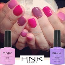 rnk professional nail uv gel,79colors soak off uv gel polish