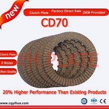 OEM quality CD70 Clutch disc ,China Chongqing factory clutch plate,level1 motorcycle parts Chongqing