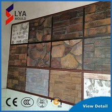 to have a unique national style silicon mould artificial interior wall stone decoration